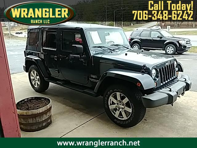 2007 Jeep Wrangler JK Unlimited Sahara 4x4