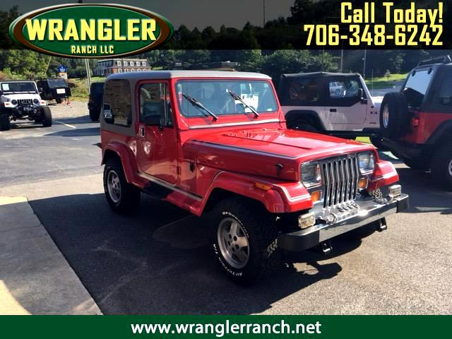 1990 Jeep Wrangler Laredo Hard Top