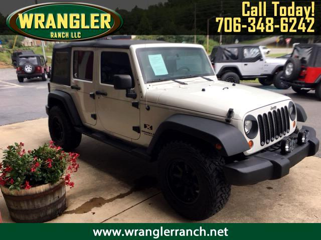 2008 Jeep Wrangler JK Unlimited Sport 4x4