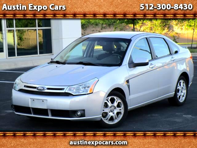 2008 Ford Focus SES Sedan