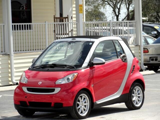 2009 smart Fortwo passion cabriolet