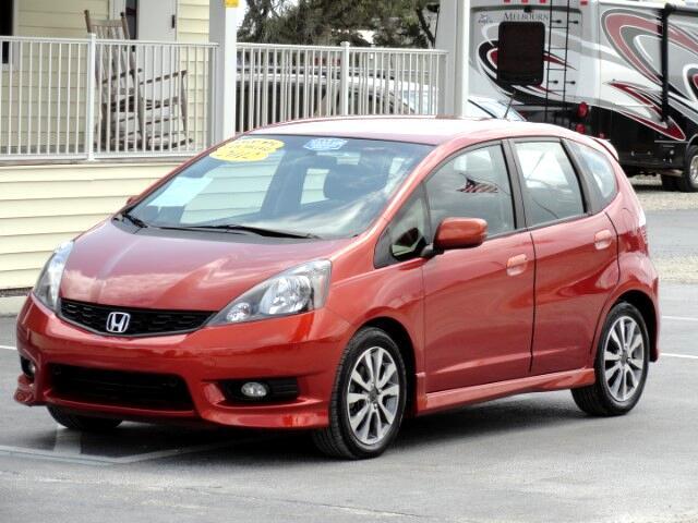 2012 Honda Fit Sport 5-Speed AT