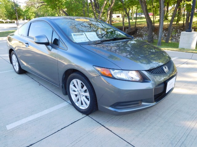 2012 Honda Civic EX-L Coupe 5-Spd AT