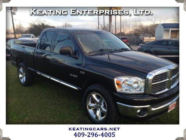 used 2008 dodge ram 1500 sxt quad cab long bed 2wd for sale in winnie tx 77665 keating. Black Bedroom Furniture Sets. Home Design Ideas