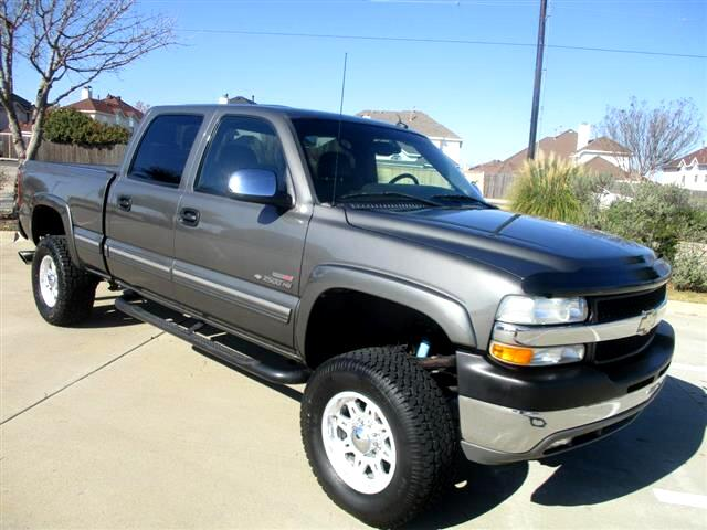 2002 Chevrolet Silverado 2500HD Crew Cab Long Bed 2WD