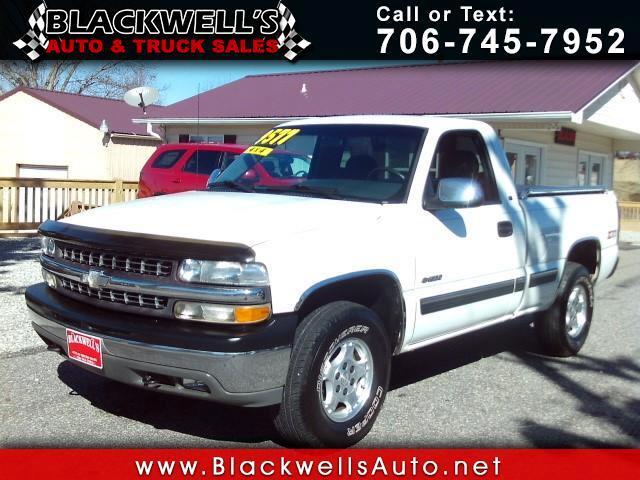 2002 Chevrolet Silverado 1500 LS Short Bed 4WD
