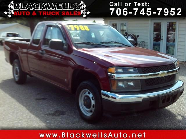 2007 Chevrolet Colorado WT Ext. Cab 2WD