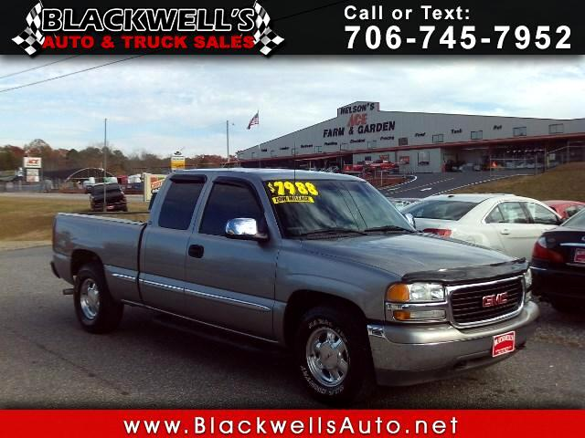 2000 GMC Sierra 1500 SL Ext. Cab 4-Door Long Bed 2WD
