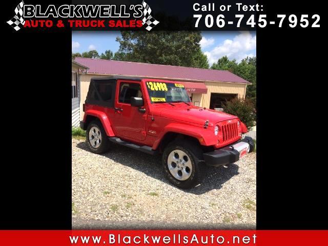 2014 Jeep Wrangler Sahara 4WD