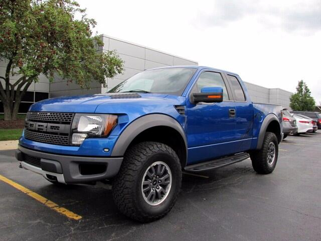 "2010 Ford F-150 4WD SuperCrew 145"" SVT Raptor"