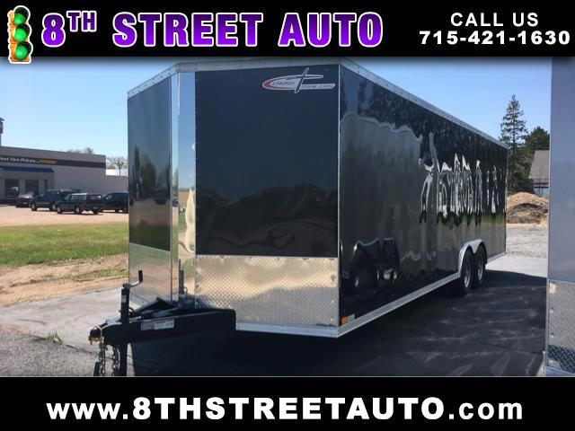 2017 Cross Trailers 8.5x24 Ramp Door