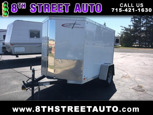 2017 Cross Trailers 5x8 Ramp Door