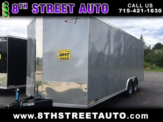 2017 Cross Trailers 8.5x20 Ramp Door
