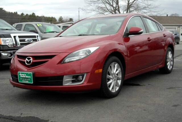 used 2011 mazda mazda6 i touring for sale in wiscasset me 04578 greg 39 s used cars and service. Black Bedroom Furniture Sets. Home Design Ideas