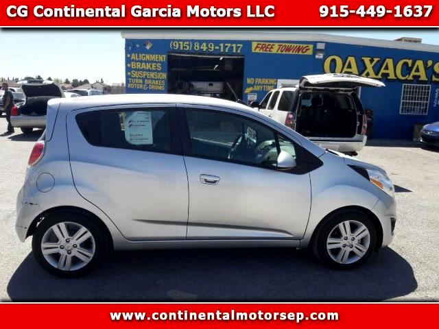 used 2015 chevrolet spark 1lt cvt for sale in el paso tx. Black Bedroom Furniture Sets. Home Design Ideas