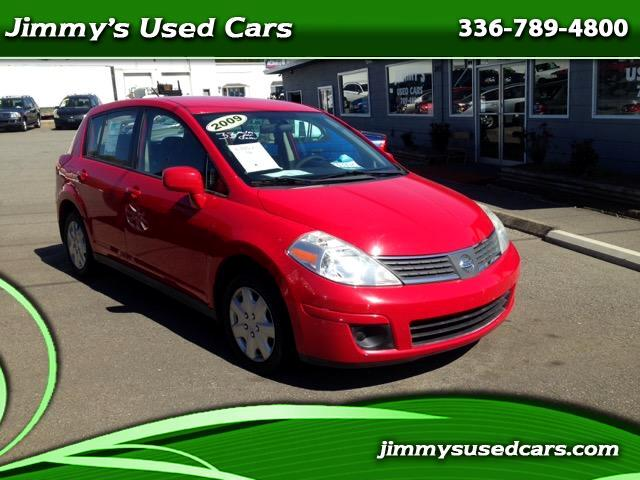 used 2009 nissan versa 34476 for sale in mount airy nc 27030 jimmy 39 s used cars. Black Bedroom Furniture Sets. Home Design Ideas