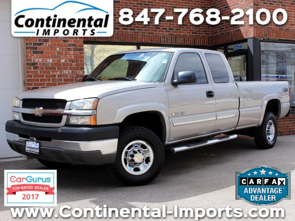 2004 Chevrolet Silverado 2500HD LS Ext. Cab Long Bed 2WD
