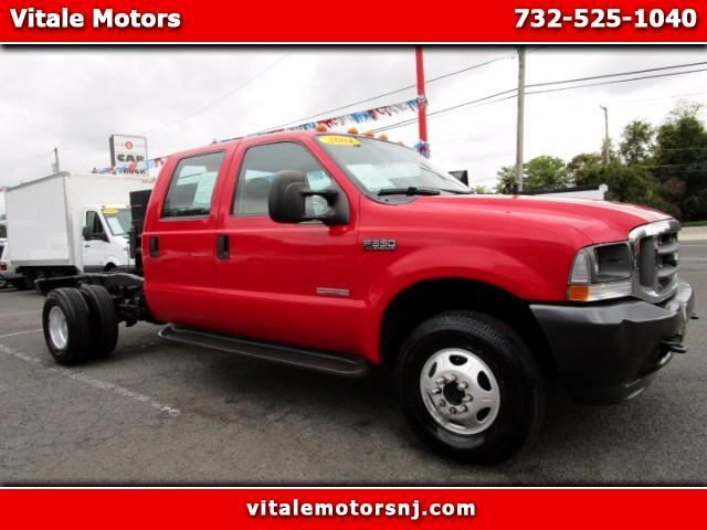 2004 Ford F-350 SD CREW CAB DRW 4WD CAB AND CHASSIS
