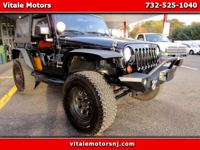 2010 Jeep Wrangler 4WD SPORT LIFTED SUSPENSION!