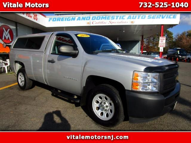 2010 Chevrolet Silverado 1500 WORK TRUCK LONG BED