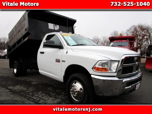 2011 Dodge Ram 3500 4wd dump truck 43k miles!