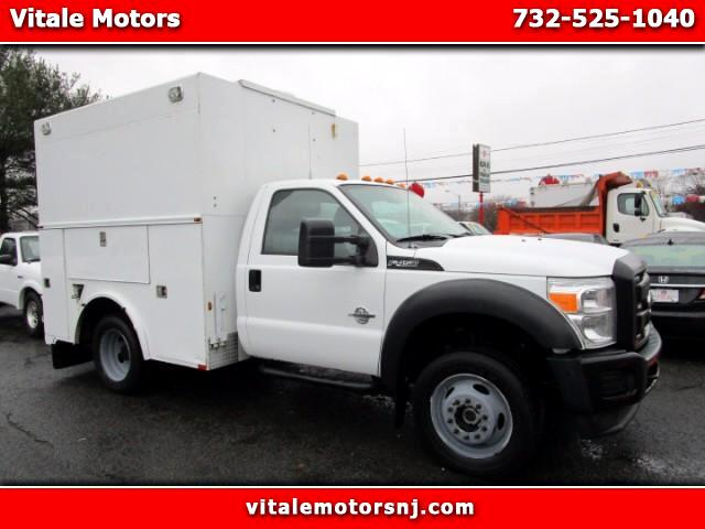 2012 Ford F-450 SD 4WD UTILITY BODY ENCLOSED