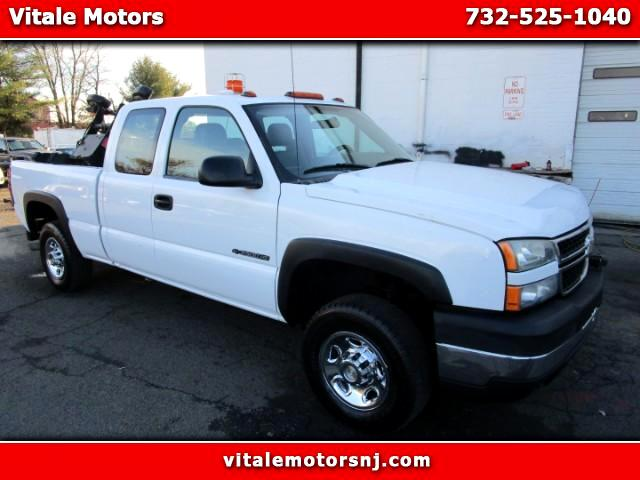 2006 Chevrolet Silverado 2500HD EXT CAB 4WD W/ SNOW PLOW