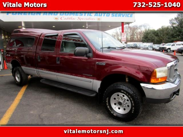 1999 Ford F-250 SD 7.3L DIESEL 4WD LONG BED CREW CAB LWB