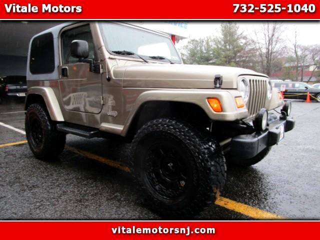 2003 Jeep Wrangler SAHARA LIFTED SUSPENSION
