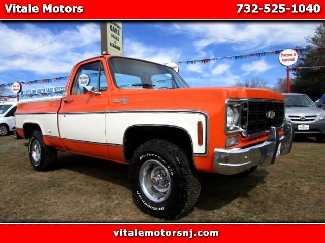 1978 Chevrolet C/K 10 C-10 SILVERADO 4X4 ONLY 32K MILES!