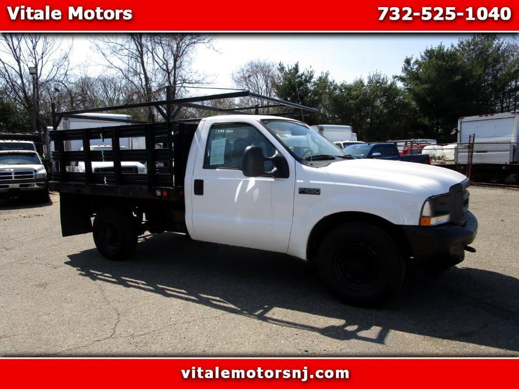 2004 Ford F-250 SD 8 FOOT FLAT DECK RACK BODY 40K MI