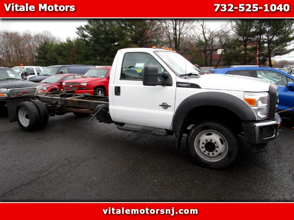 2011 Ford F-550 CAB AND CHASSIS TRUCK F550 DIESEL 58K MILES