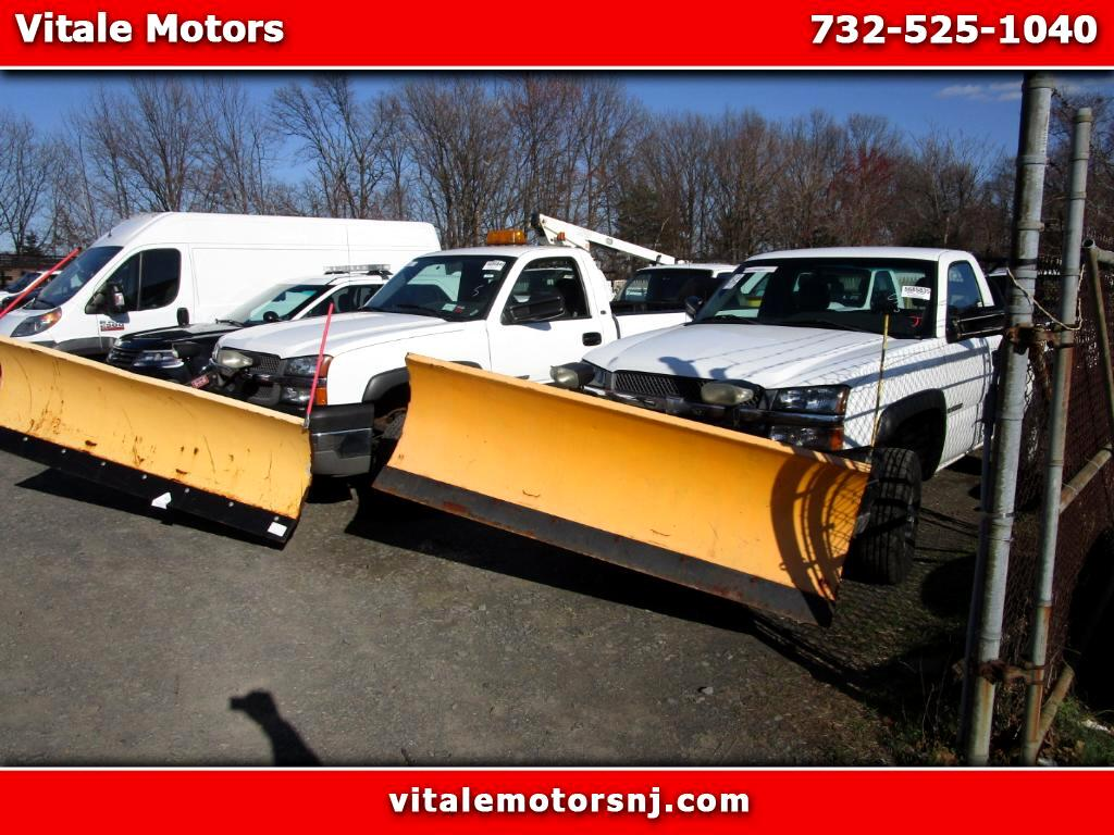 2004 Chevrolet Silverado 2500HD 3400 MILES!! LONG BED 4X4 PLOW & SALTER!