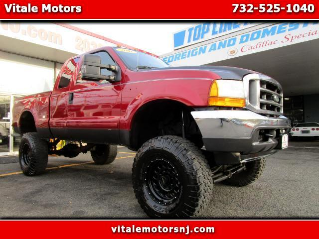 2001 Ford F-250 SD Lariat SuperCab Long Bed 4WD LIFTED
