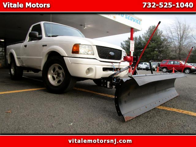 2002 Ford Ranger Edge Short Bed 4WD SNOW PLOW