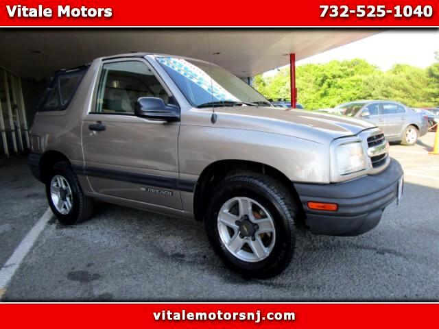 2002 Chevrolet Tracker 2-Door Convertible 2WD
