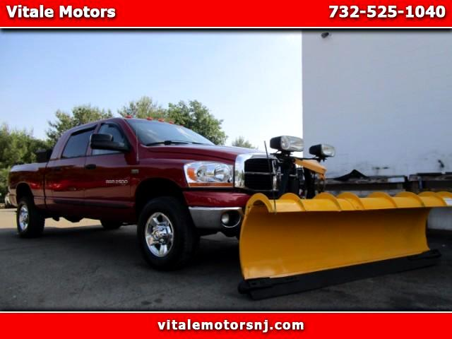 2006 Dodge Ram 2500 LARAMIE MEGA CAB 4WD WITH SNOW PLOW!!