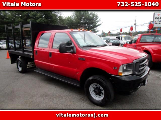 2003 Ford F-350 SD XL CREW CAB RACK BODY LIFT GATE 4WD