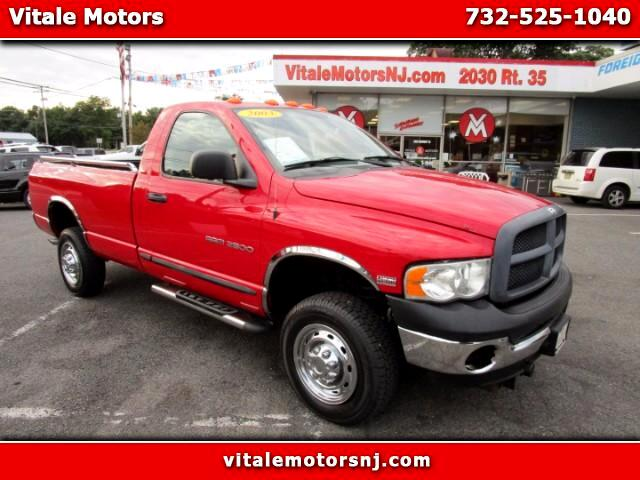 2003 Dodge Ram 2500 4WD LONG BED