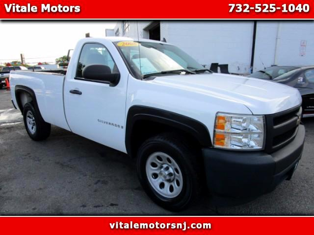 2008 Chevrolet Silverado 1500 Regular Cab Long Bed 2WD