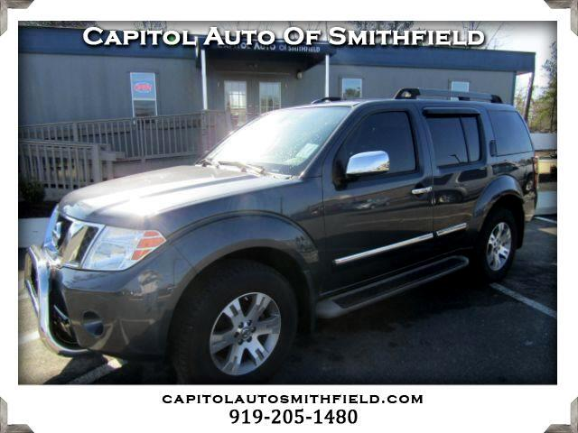 2012 Nissan Pathfinder Silver Edition 4WD