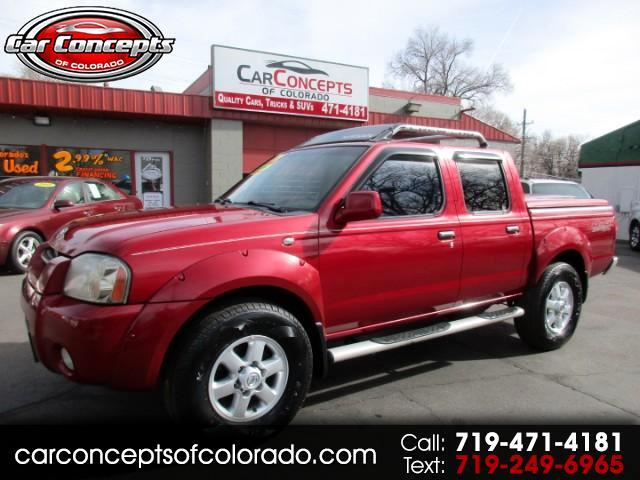 2003 Nissan Frontier SE-V6 Crew Cab 4WD with Leather