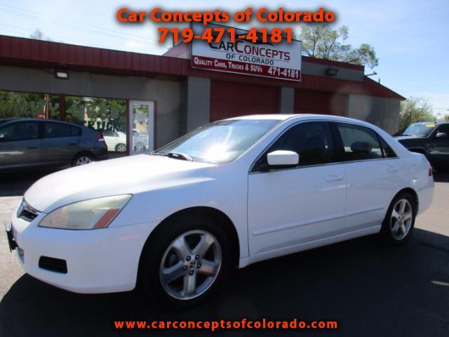 2007 Honda Accord EX-L V-6 Sedan 6-Speed