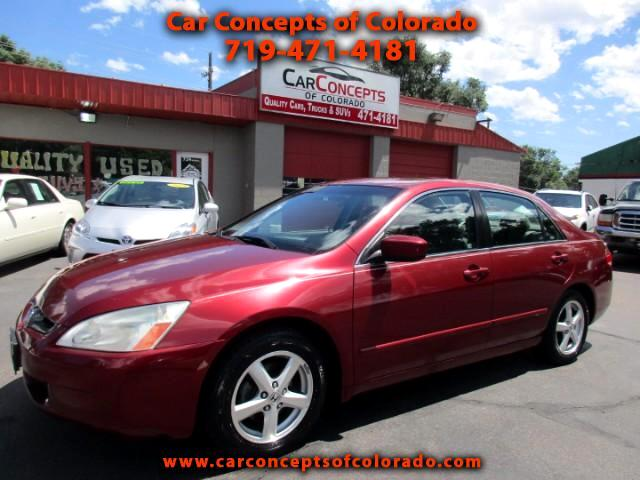 2004 Honda Accord EX Sedan AT with Side Curtain Airbags