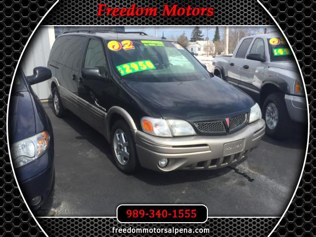 2002 Pontiac Montana 1SX Extended AWD