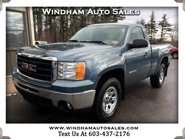 2010 GMC Sierra 1500 Reg. Cab 6.5-ft. Bed 4WD
