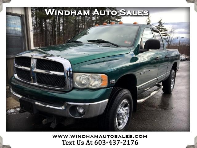 2003 Dodge Ram 2500 ST Quad Cab Long Bed 4WD