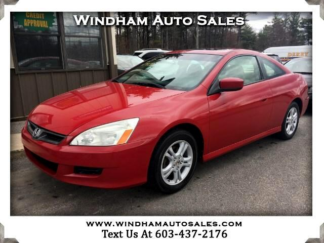 2007 Honda Accord EX coupe AT