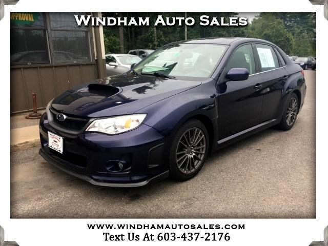 2014 Subaru Impreza WRX Premium 4-Door