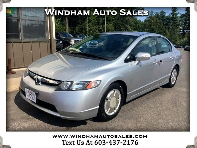 2008 Honda Civic Hybrid CVT AT-PZEV with Navigation